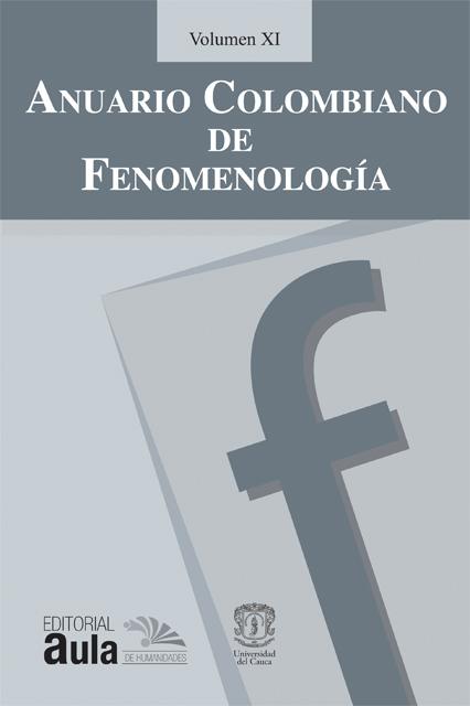 Anuario Colombiano de Fenomenología, vol. XI