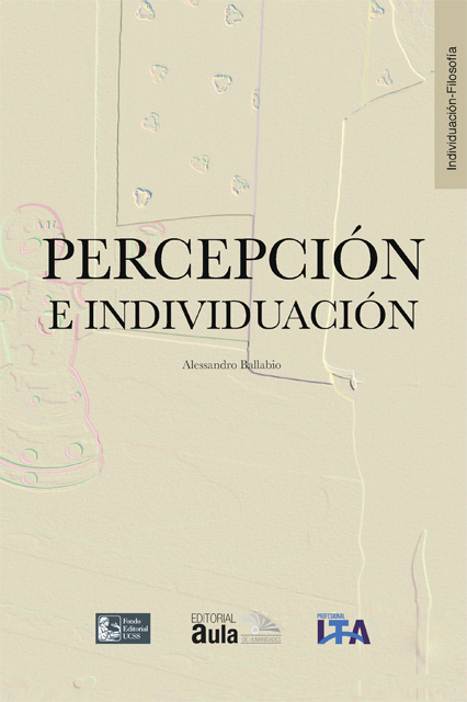 Percepción e individuación