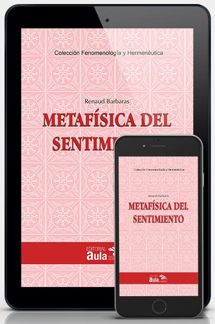 Metafísica del sentimiento (Versión digital)