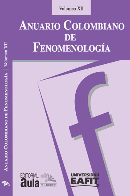 Anuario Colombiano de Fenomenología, vol. XII